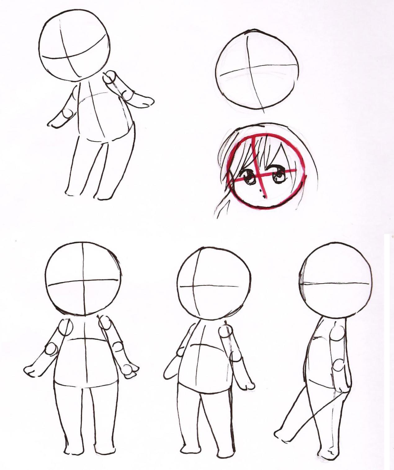 paciulo blog tutorial chibi   parte 1   corpo b sico