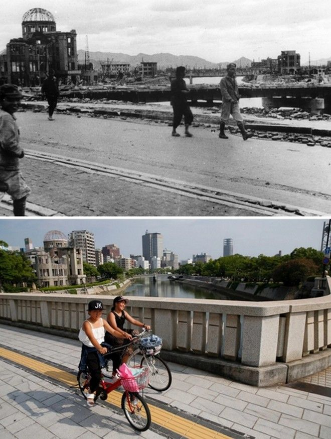 Hiroshima Then And Now: You Won't Believe What It Looks Like Today! - The Hiroshima Peace Memorial