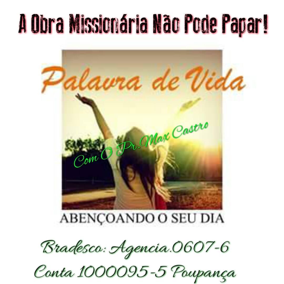 MINISTÉRIO MISSIONÁRIO
