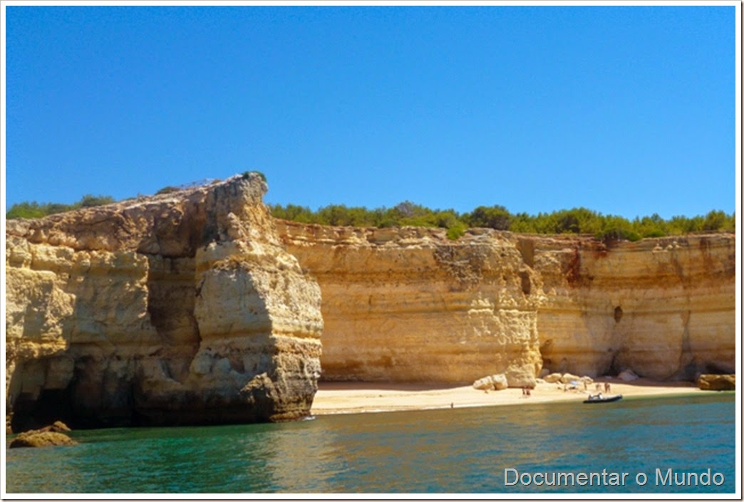Praia da Corredoura; Férias Algarve; Grutas Marinhas; Sea Caves; Grotten Fahrt