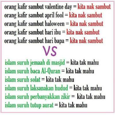 ISLAM SURUH VS ISLAM TEGAH