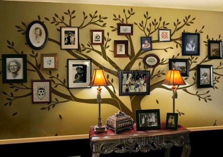 family photos tree wall designs and ideas fashionate trends