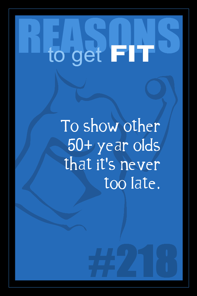 365 Reasons to Get Fit #218