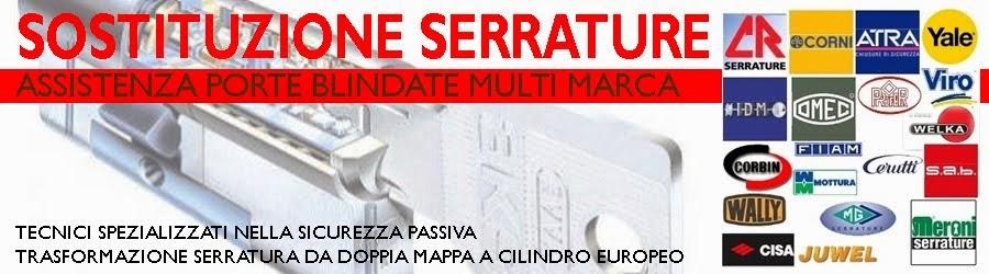 Sostituzione serrature ed assistenza porte blindate for Sostituzione serrature venezia