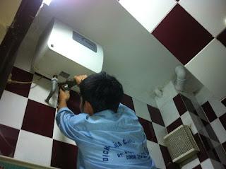 Sửa bình nóng lạnh tại Thanh Xuân Hà Nội