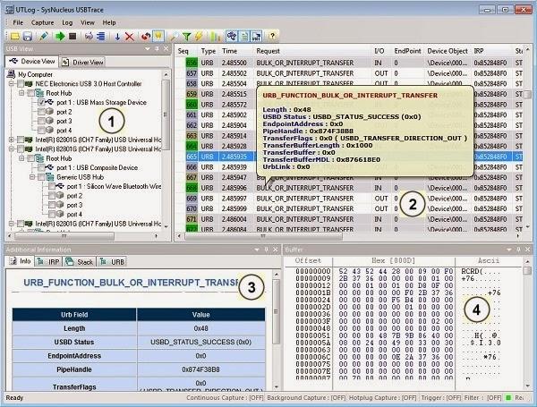 SysNucleus USBTrace 3.0.1.82 (x86/x64)