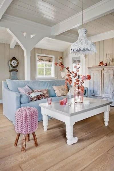 Muebles de colores pastel - Decoracion vintage casa ...