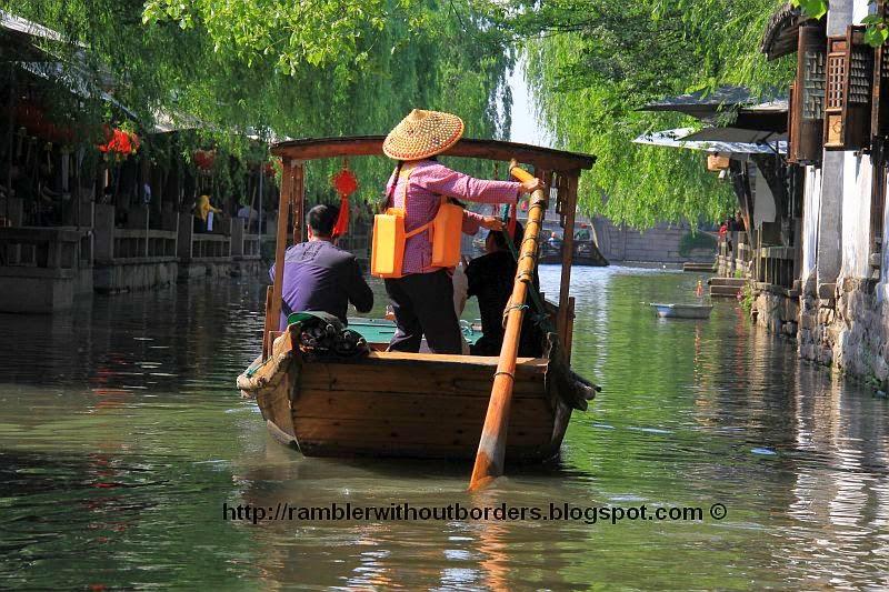 Boat Rover, Zhouzhuang, Jiangsu, China