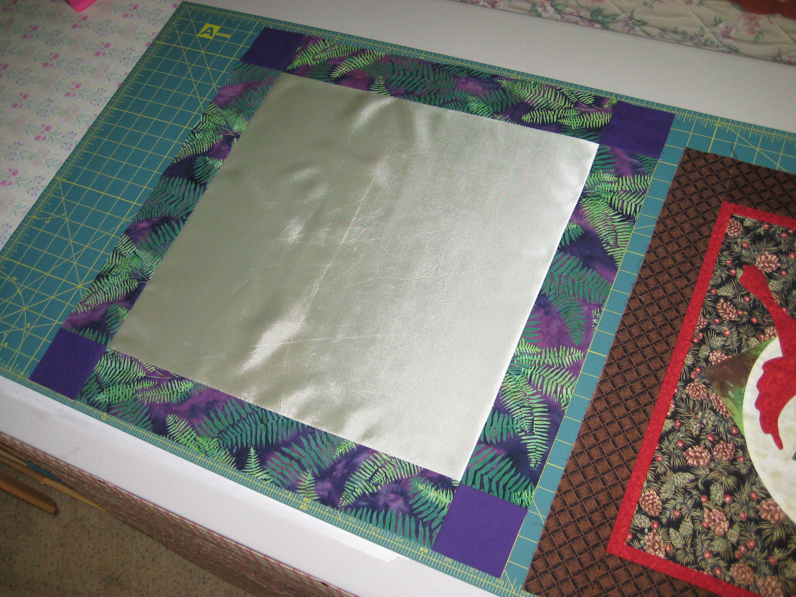 Quilt to the Edge....: Preparing satin fabric for quilting : fabric for quilting - Adamdwight.com