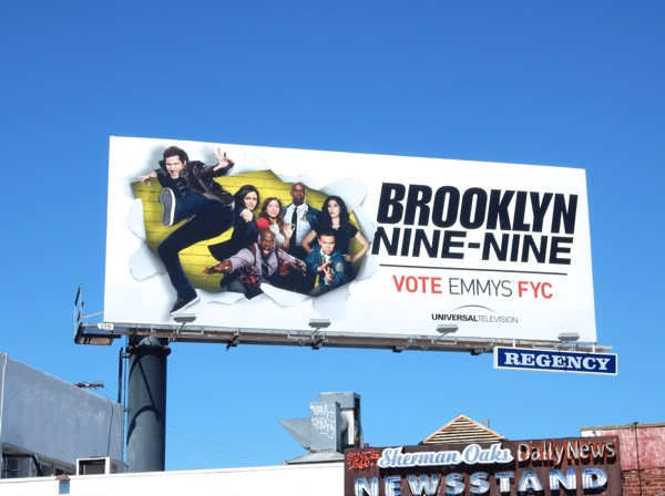Brooklyn Nine Nine Emmy 2015 billboard