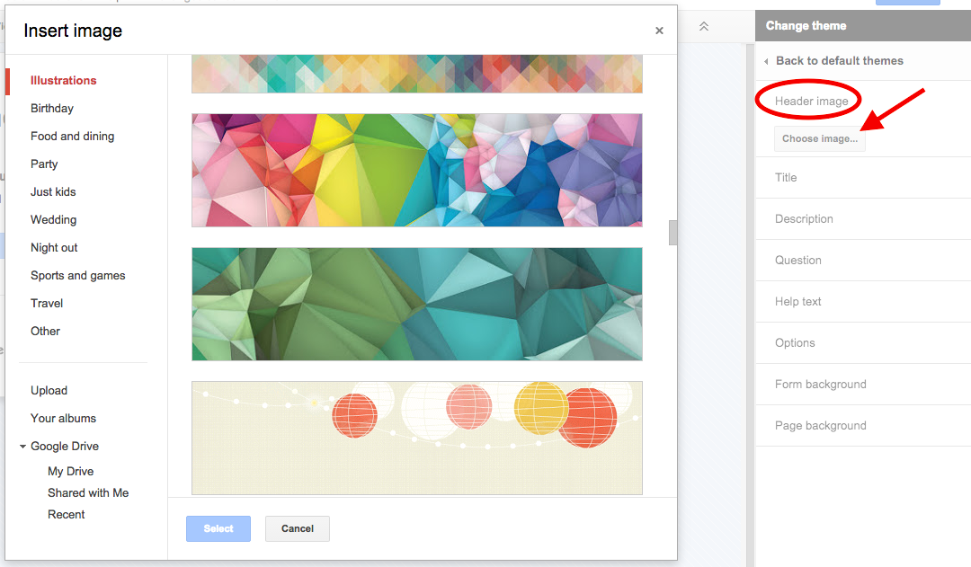 TeachingTechNix: Customize the Look of Your Google Form