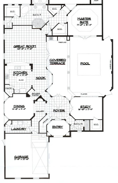 Floor Elevation Technique : The southern home floor plan or elevation