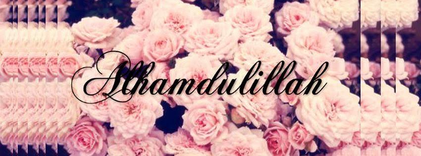 Une couverture facebook hamdoulah