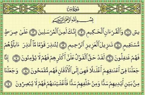 Surat yaseen doa dan dzikir harian fadilah surah yasin