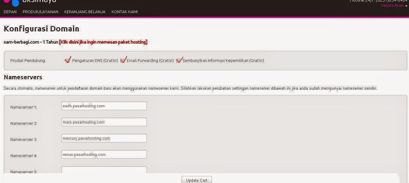 Cara Beli atau Membuat Domain Sendiri
