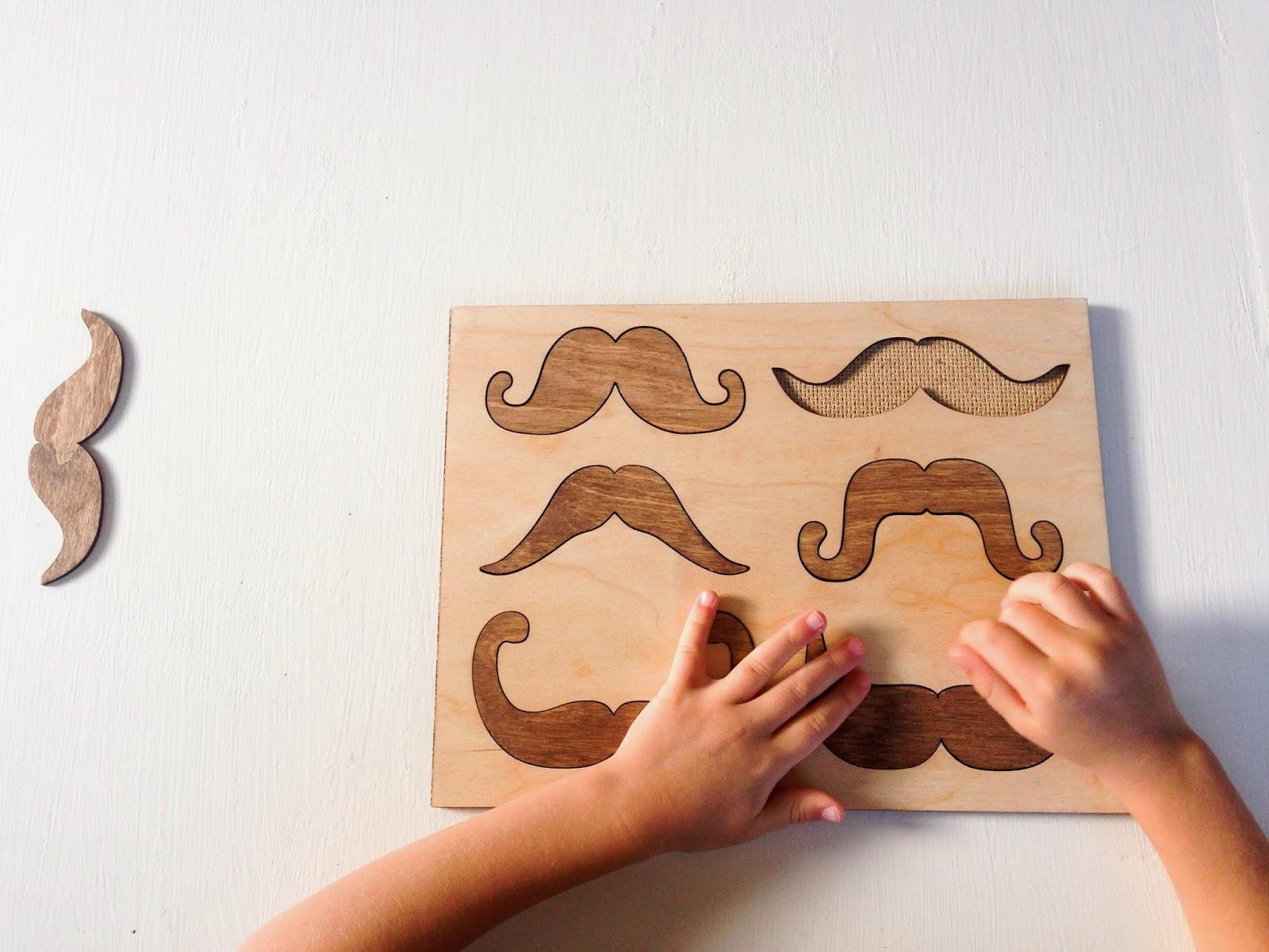 do it yourself divas: Mustache Puzzle