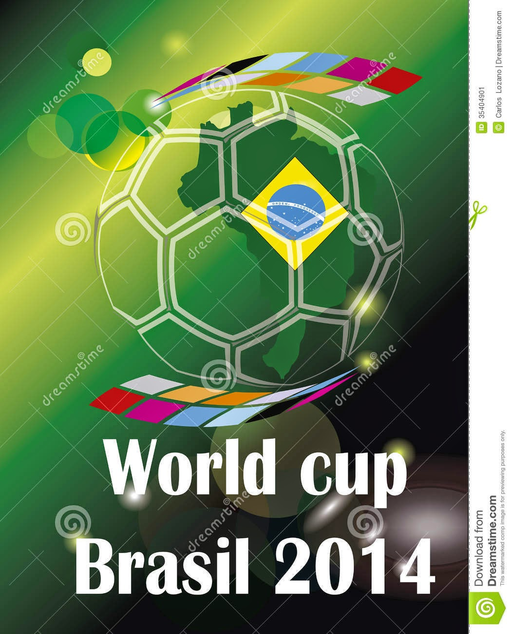 Soccer world cup Brazil 2014 countrys