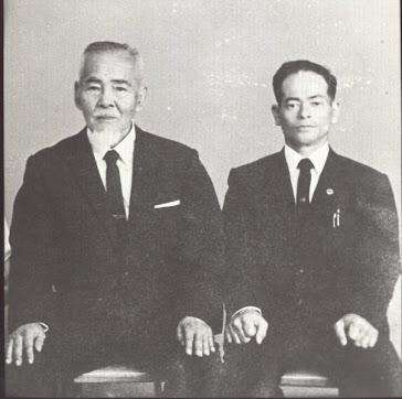 Shigeru Nakamura with Seikichi Odo