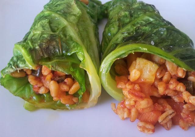 involtini di verza e cereali