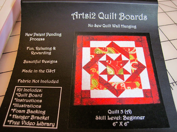 No Sew Quilt Board