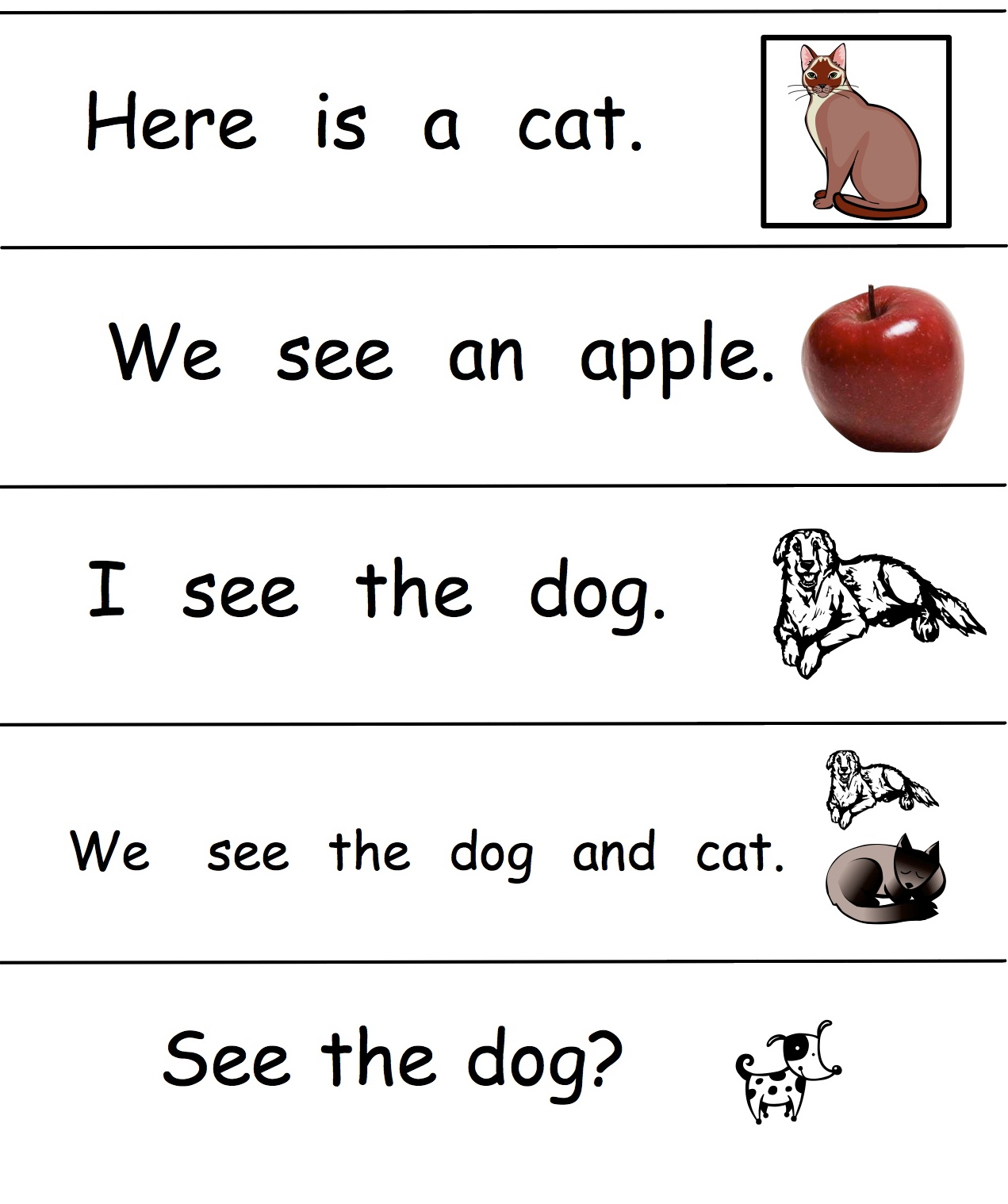 Kindergarten Sight Words - Lessons - TES Teach
