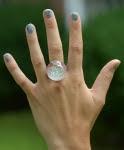 clam globe ring