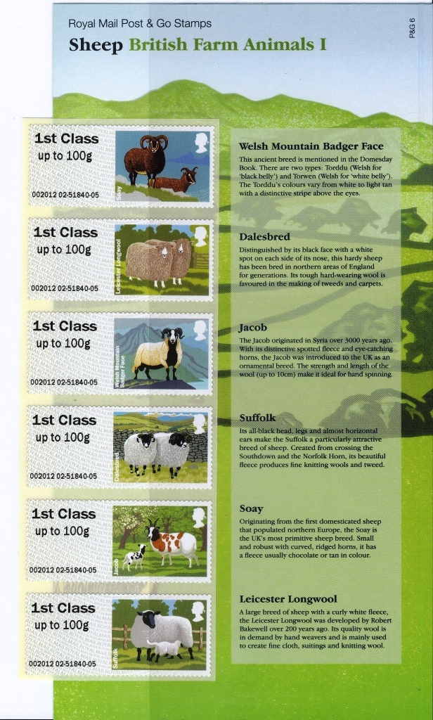 Sheep Faststamps presentation pack.