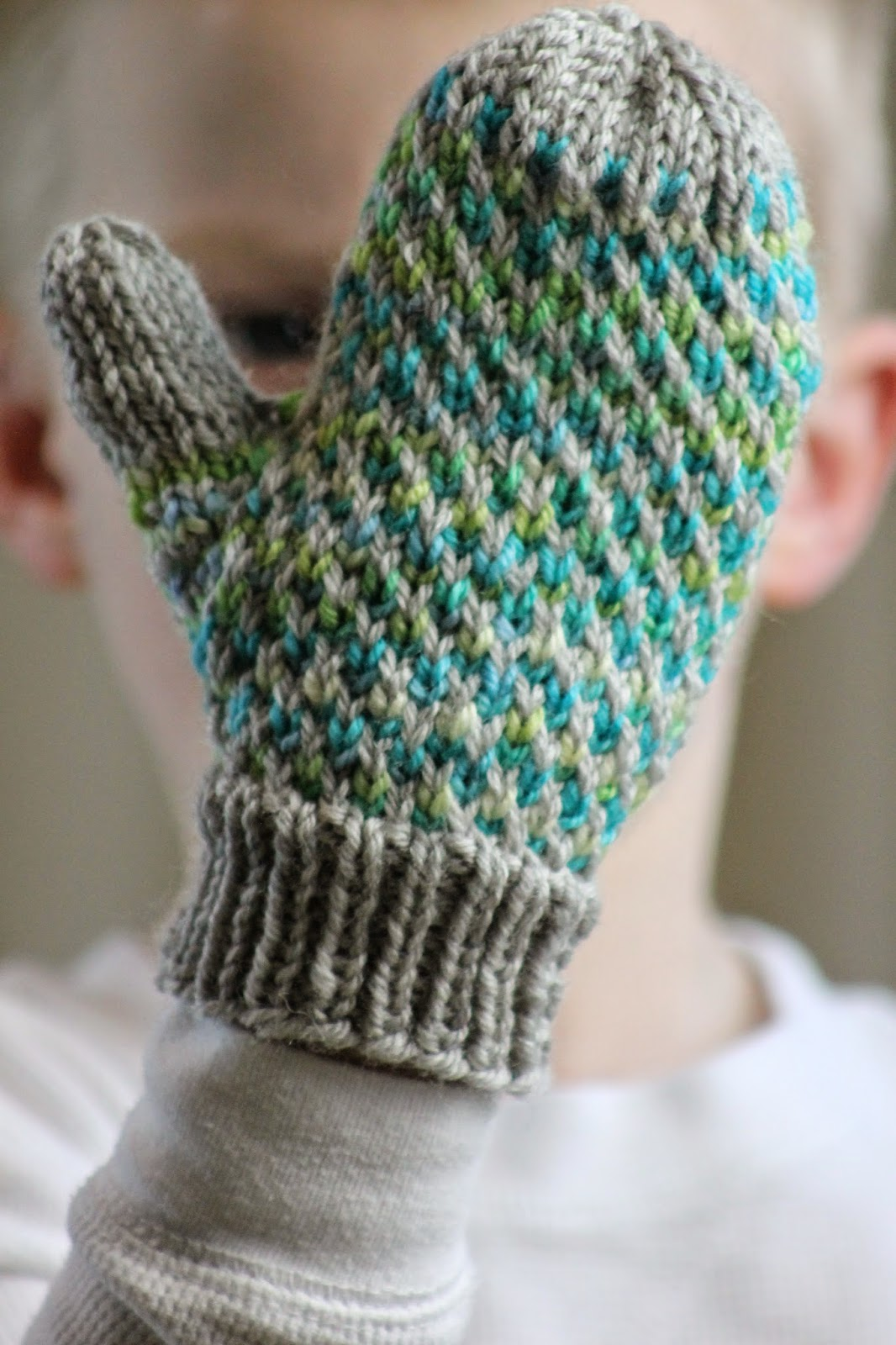 Balls to the Walls Knits: Minky Mittens