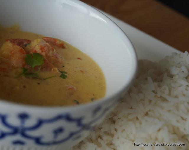 myanmar, curry, prawn