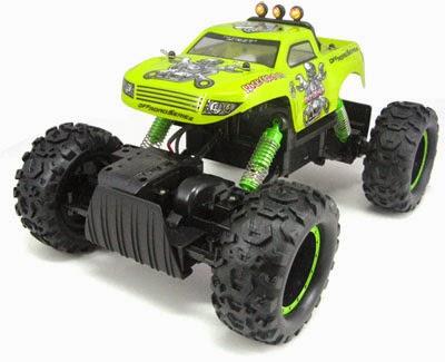 Mainan remote control keren dan tangguh di medan off road