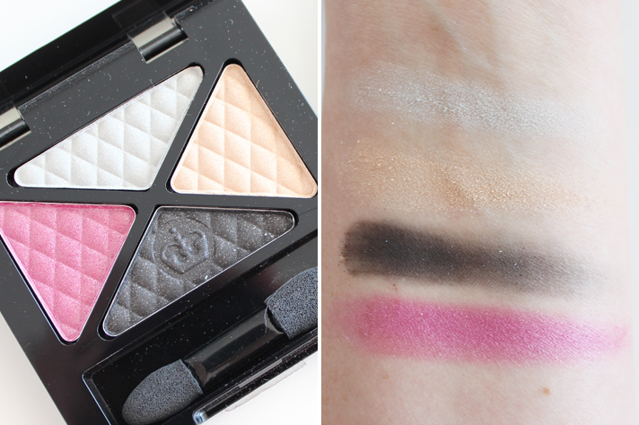 RIMMEL // Glam'Eyes Quad Eyeshadows in Sweet Smoulder + Thrill Seeker Review + Swatches - CassandraMyee