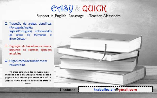 EASY & QUICK - support in English Language