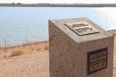 Bernard Galleano Reservoir Dedication Plaque
