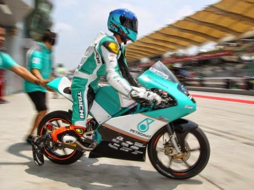 Kedudukan Petak Perlumbaan Moto3 GP Malaysia