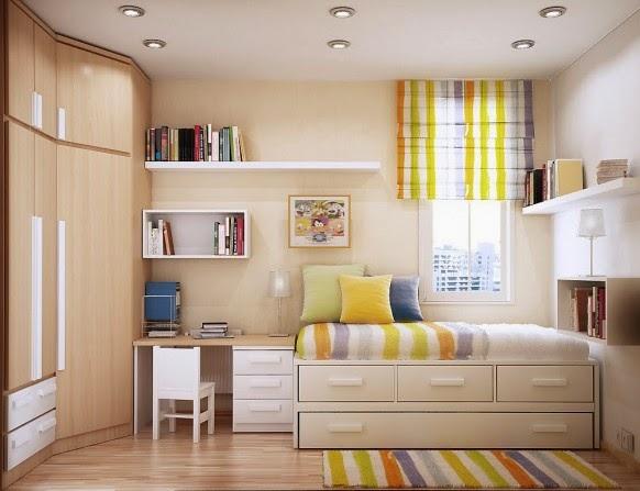 Desain Kamar Tidur Ukuran 3x3