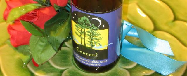 Eagle Crest Vineyards Concord Wine