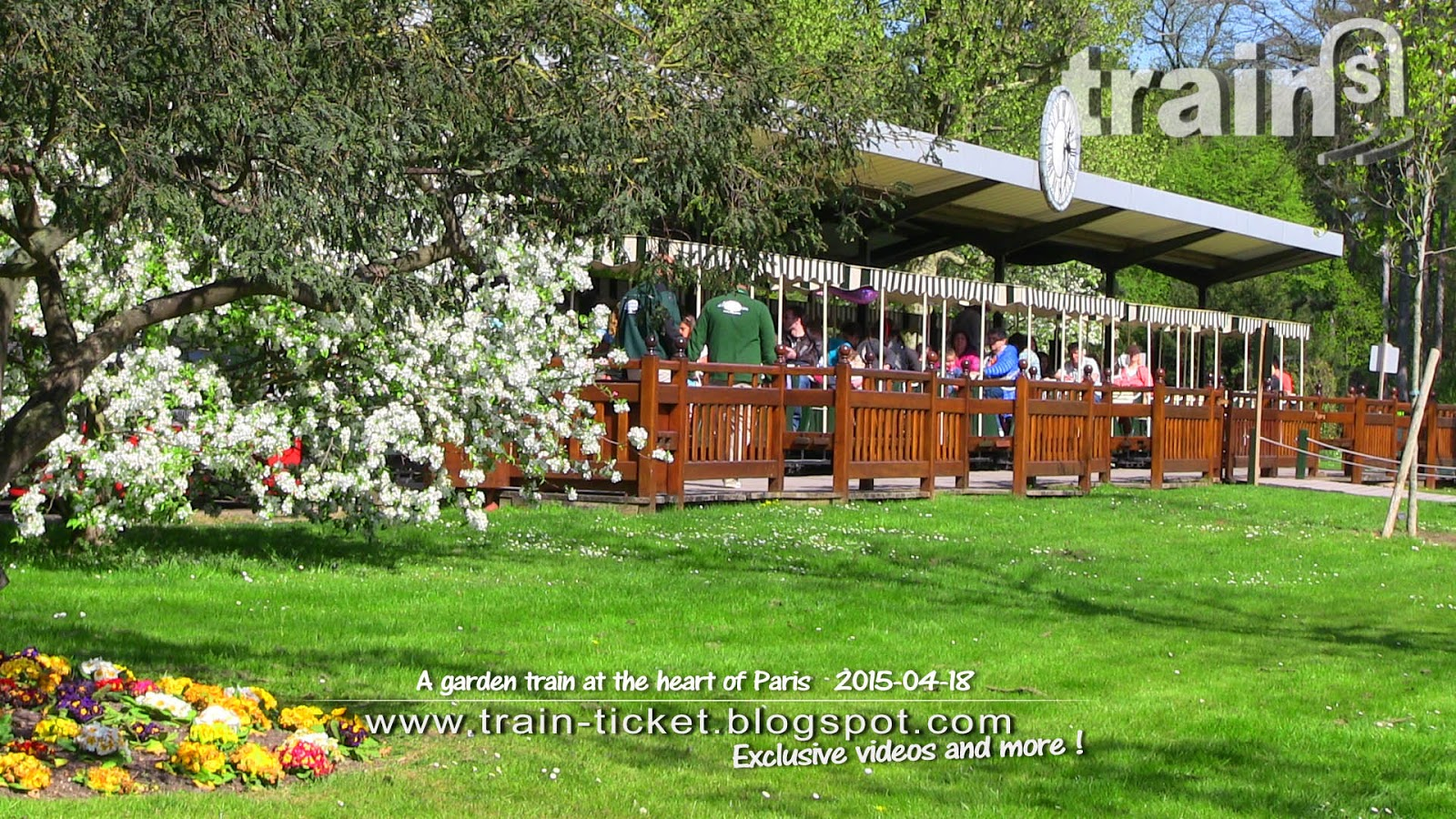 france a garden train at the heart of paris train ticket