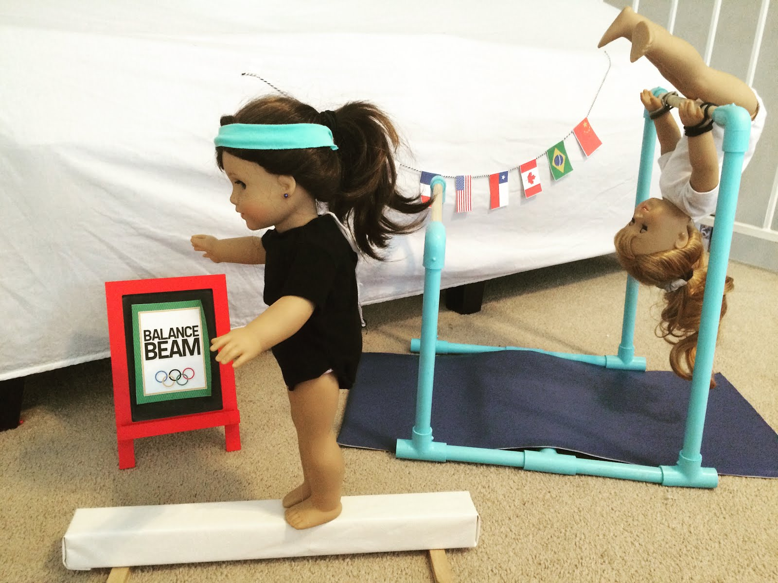 Amazing Stop Motion Doll Routines created at the Olympics Doll Camp!