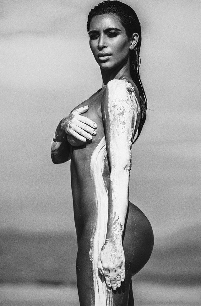 Kim Kardashian desnuda - PAREJAS DISPAREJAS - FARÁNDULA INTERNACIONAL