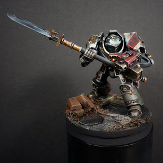 Arsies Studio Blog: Grey knights step by step
