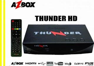azbox - NOVA ATUALIZAÇÃO DO SEU APARELHO AZBOX THUNDER TRANSFORMADO AZAMERICA S1008 HD Azbox-thunder-hd-