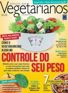 SAIU A NOVA EDIÇÃO DA REVISTA VEGETARIANOS!
