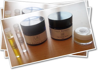 Lucy Russell Face balm and scrub