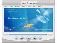Plato DVD to 3GP Converter