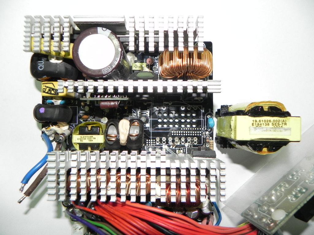 OCZ Fatal1ty 750W teardown (after system crash)   Embedded Systems...