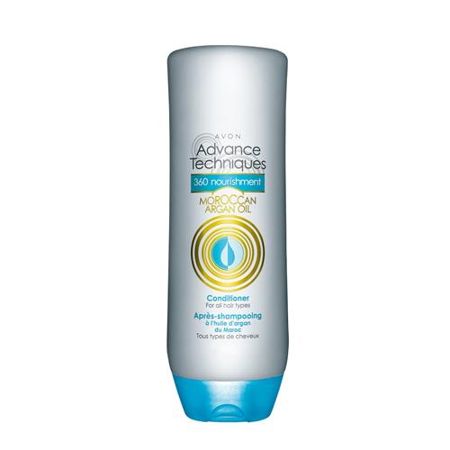 Advance Techniques Tüm Saç Tipleri için Fas Argan Yağı İçeren Besleyici Saç Kremi
