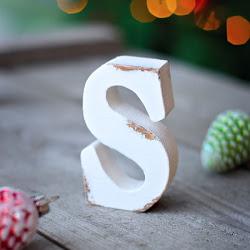 буквы деревянные 10 см