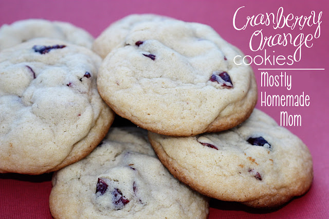 Cranberry Orange Cookies | Mostly Homemade Mom