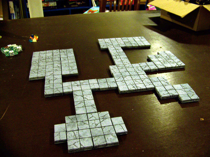 large modular dungeon tiles