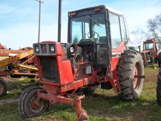International 1086 tractor parts